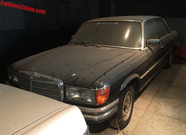 Bộ sưu tập Mercedes-Benz nằm phủ bụi khiến nhiều người xót xa - Ảnh 7.