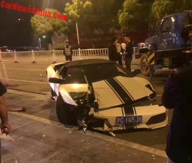 Lamborghini Murcielago hàng hiếm gây tai nạn liên hoàn, Range Rover bị vạ lây - Ảnh 2.