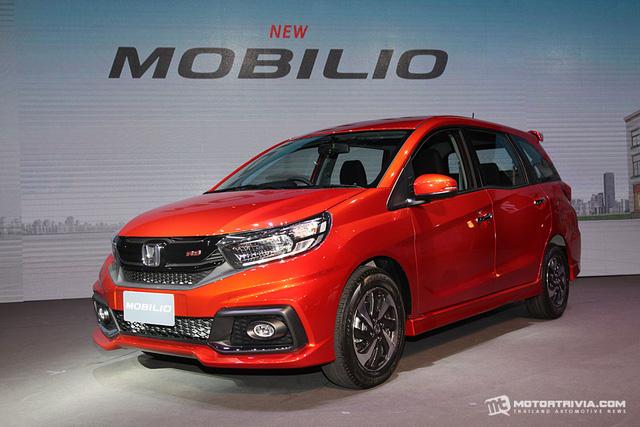 Xe MPV bình dân Honda Mobilio 2017 ra mắt Thái Lan, giá từ 433 triệu Đồng - Ảnh 1.