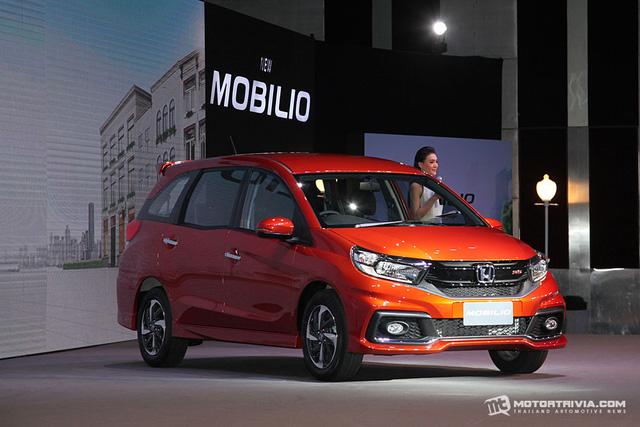 Xe MPV bình dân Honda Mobilio 2017 ra mắt Thái Lan, giá từ 433 triệu Đồng - Ảnh 3.