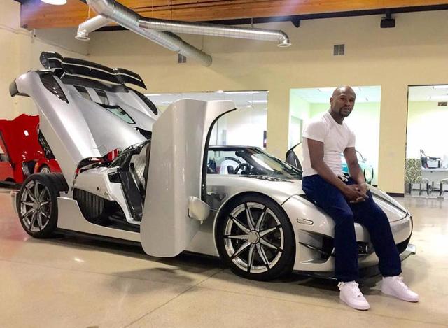 Võ sỹ triệu phú Floyd Mayweather khoe dàn 6 xe Rolls-Royce khiến ai cũng phát hờn - Ảnh 7.