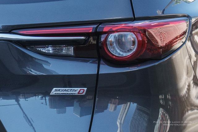Bắt gặp crossover 3 hàng ghế Mazda CX-8 hoàn toàn mới trên đường phố - Ảnh 4.