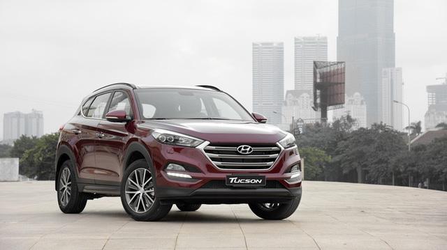 Crossover cỡ nhỏ Hyundai Tucson phiên bản mới lộ diện tại Việt Nam - Ảnh 2.