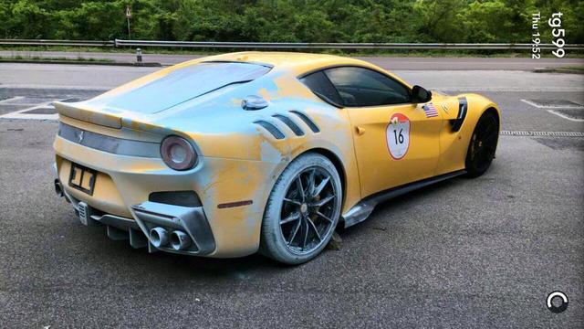Siêu xe F12tdf hỏng bộ ly hợp và bốc cháy, Ferrari cử người đến sửa ngay trong đêm - Ảnh 3.