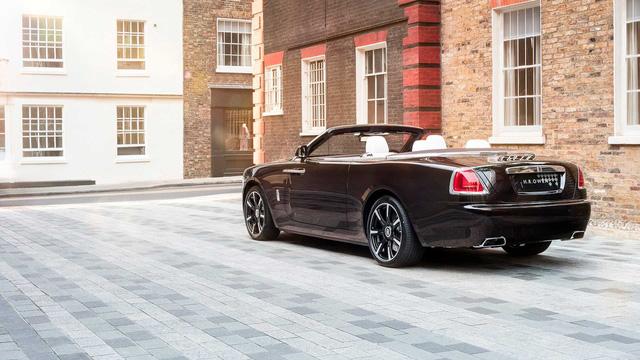 Làm quen với chiếc Rolls-Royce Dawn đặc biệt nhất thế giới - Ảnh 8.