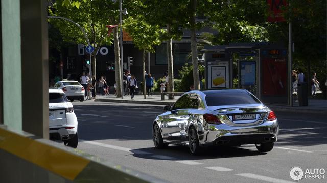 Bắt gặp gương di động Mercedes-AMG C63 S Edition 1 trên đường phố - Ảnh 3.