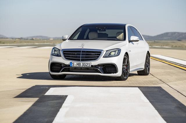 Sedan hạng sang cỡ lớn Mercedes-Benz S-Class 2018 được công bố giá bán - Ảnh 1.