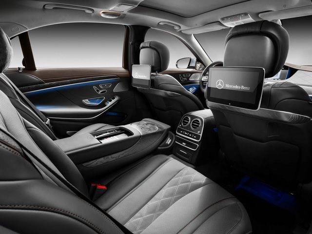 Sedan hạng sang cỡ lớn Mercedes-Benz S-Class 2018 được công bố giá bán - Ảnh 4.