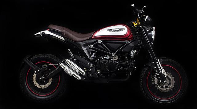Lifan Hunter 125 nhái Ducati Scrambler ra mắt, giá từ 35,5 triệu Đồng - Ảnh 8.