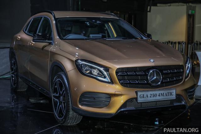 Crossover hạng sang Mercedes-Benz GLA 2018 cập bến Đông Nam Á, giá từ 1,26 tỷ Đồng - Ảnh 16.