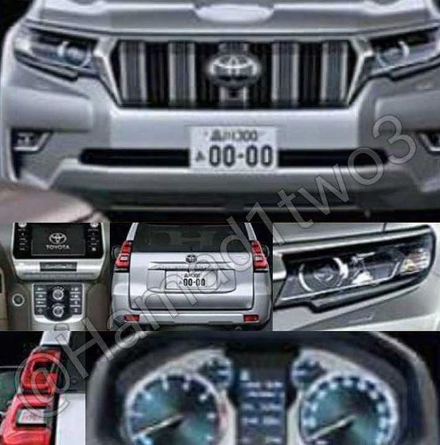 Hé lộ hình ảnh của Toyota Land Cruiser Prado 2018 - Ảnh 2.