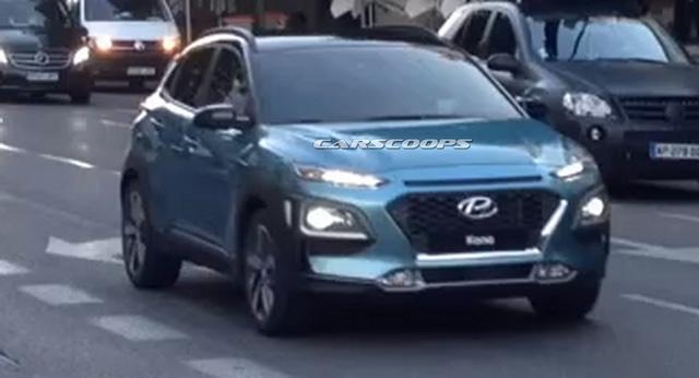 Ngắm Hyundai Kona 2018 có thể về Việt Nam ngoài đời thực - Ảnh 2.