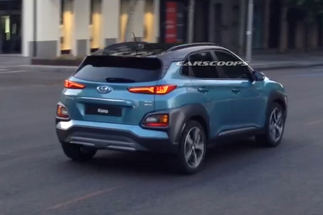 Ngắm Hyundai Kona 2018 có thể về Việt Nam ngoài đời thực - Ảnh 5.