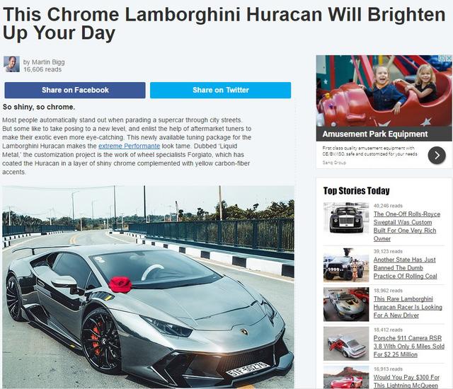 Lamborghini Huracan độ Novara Edizione độc nhất Việt Nam liên tục lên báo Tây - Ảnh 1.