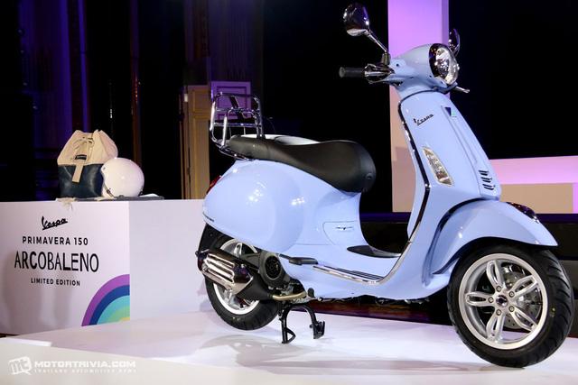 Vespa Primavera 150 có phiên bản đặc biệt mới - Ảnh 2.