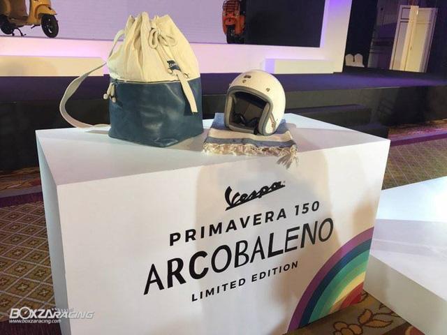 Vespa Primavera 150 có phiên bản đặc biệt mới - Ảnh 5.