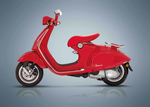 Siêu phẩm Vespa 946 RED Edition từng ra mắt Việt Nam có giá ngang ô tô - Ảnh 4.
