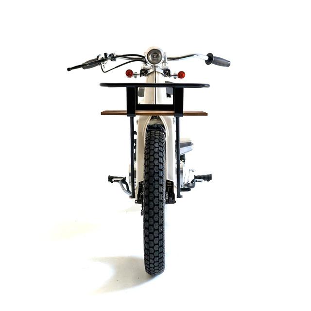 Làm quen với chiếc Honda Super Cub độ với cảm hứng từ xe đạp - Ảnh 5.