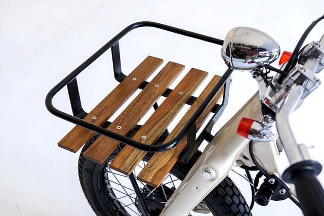 Làm quen với chiếc Honda Super Cub độ với cảm hứng từ xe đạp - Ảnh 6.