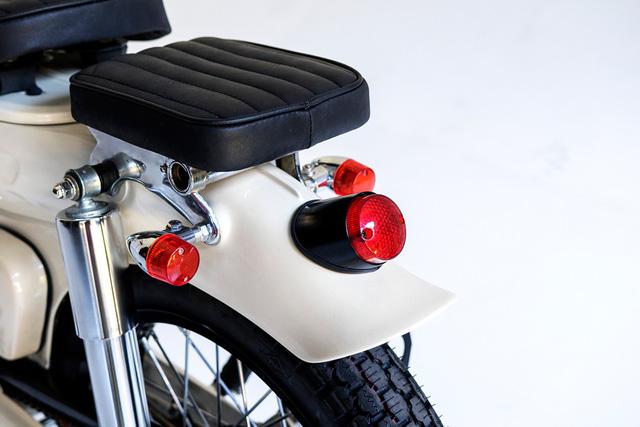 Làm quen với chiếc Honda Super Cub độ với cảm hứng từ xe đạp - Ảnh 7.