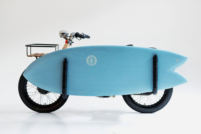Làm quen với chiếc Honda Super Cub độ với cảm hứng từ xe đạp - Ảnh 3.