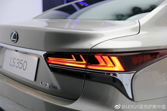Sedan hạng sang cỡ lớn Lexus LS 2018 có thêm bản tiêu chuẩn mới - Ảnh 8.