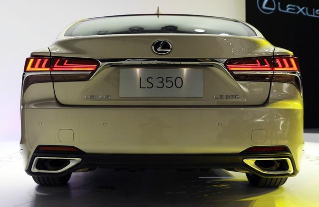 Sedan hạng sang cỡ lớn Lexus LS 2018 có thêm bản tiêu chuẩn mới - Ảnh 10.