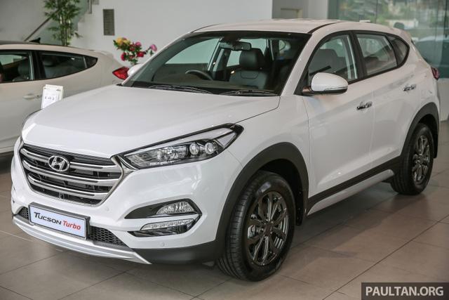Cận cảnh Hyundai Tucson tăng áp mới ra mắt Đông Nam Á với giá 775 triệu Đồng - Ảnh 1.