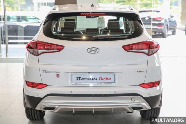 Cận cảnh Hyundai Tucson tăng áp mới ra mắt Đông Nam Á với giá 775 triệu Đồng - Ảnh 4.