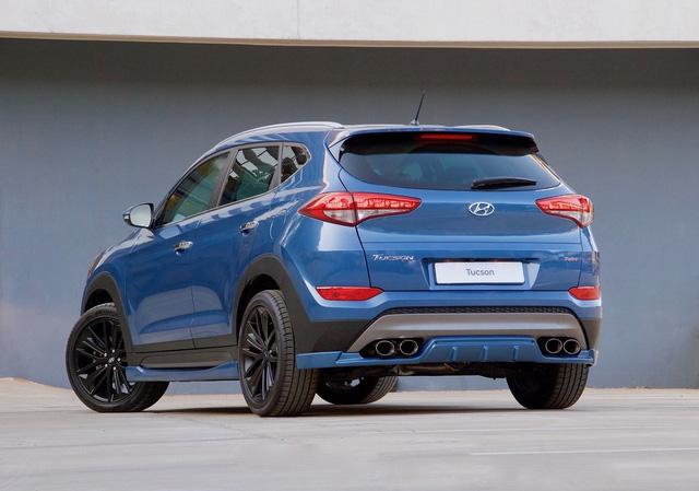 Hyundai tung ra Tucson Sport 2017 với thiết kế thể thao và động cơ mạnh hơn - Ảnh 1.
