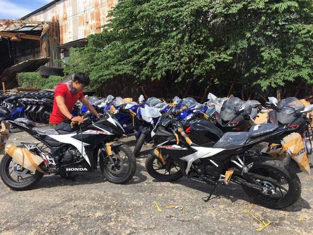 Lô xe Honda CBR150R 2017 cập bến Việt Nam với giá hơn 110 triệu Đồng - Ảnh 1.
