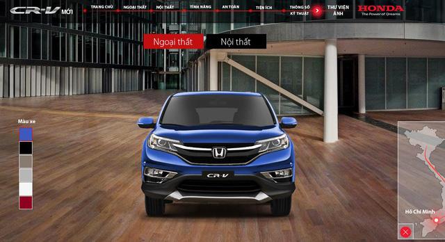 Xuất hiện Honda CR-V sơn màu xanh lục lạ mắt tại Hà Nội - Ảnh 3.