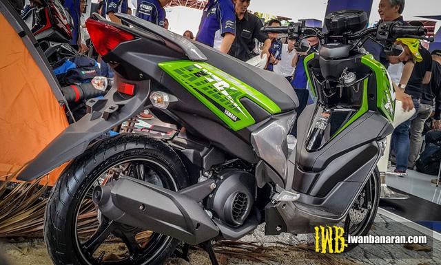 Xe ga mang phong cách off-road Yamaha X-Ride có thêm phiên bản 125 phân khối - Ảnh 2.