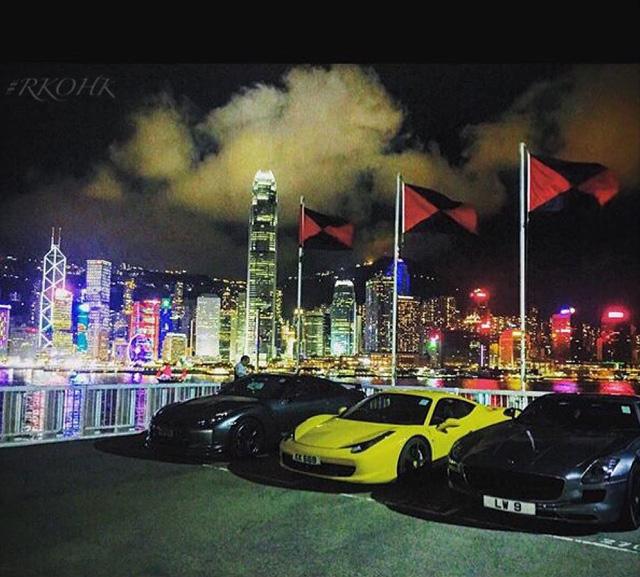 Hội con nhà giàu Hồng Kông khoe siêu xe khiến nhiều người phát hờn - Ảnh 2.