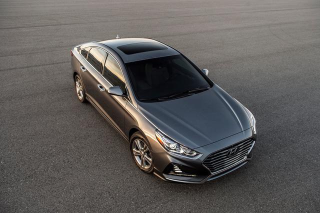 Sedan cỡ trung Hyundai Sonata 2018 được chốt giá - Ảnh 2.
