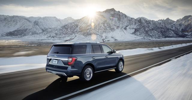 '. SUV 8 chỗ Ford Expedition 2018 mạnh mẽ đúng như kỳ vọng .'