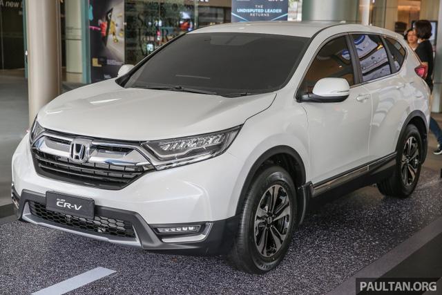 Honda CR-V 2017 tại Malaysia không có phiên bản 7 chỗ - Ảnh 1.