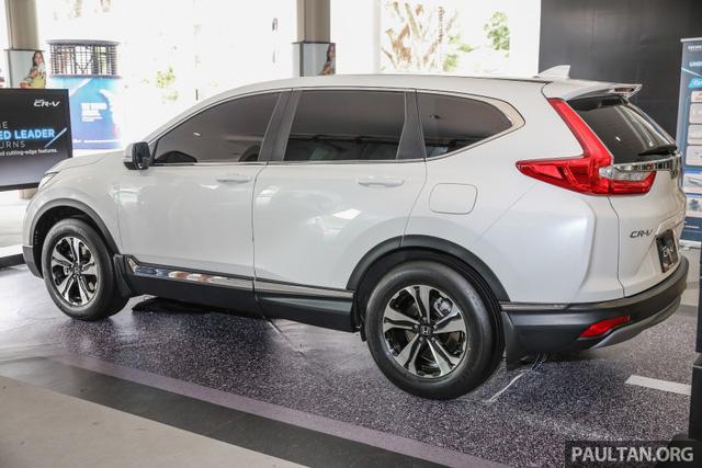 Honda CR-V 2017 tại Malaysia không có phiên bản 7 chỗ - Ảnh 2.