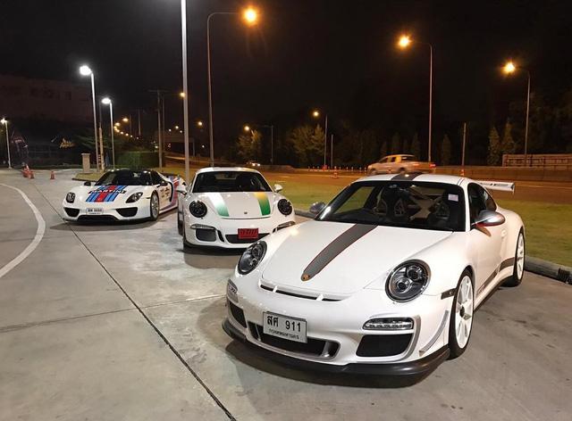 Phát thèm với dàn xe thể thao Porsche 911 R ở Thái Lan - Ảnh 11.