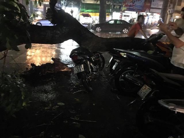 Hà Nội: Mưa như trút nước vào giờ tan tầm, hàng loạt xe sang chết đứng - Ảnh 8.