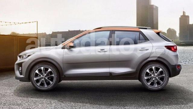Rò rỉ ảnh nóng của crossover cỡ nhỏ Kia Stonic mới - Ảnh 1.