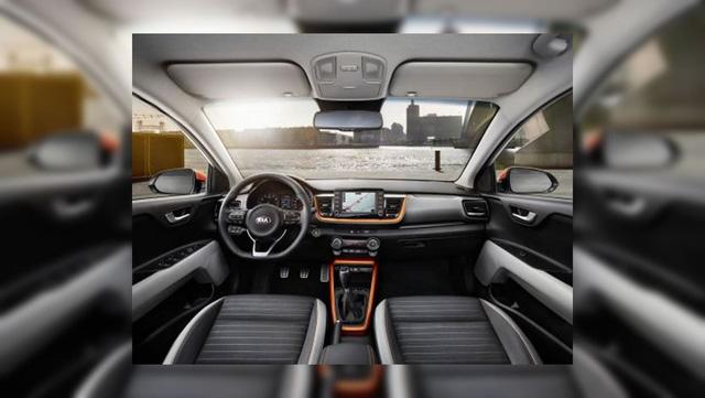 Rò rỉ ảnh nóng của crossover cỡ nhỏ Kia Stonic mới - Ảnh 2.