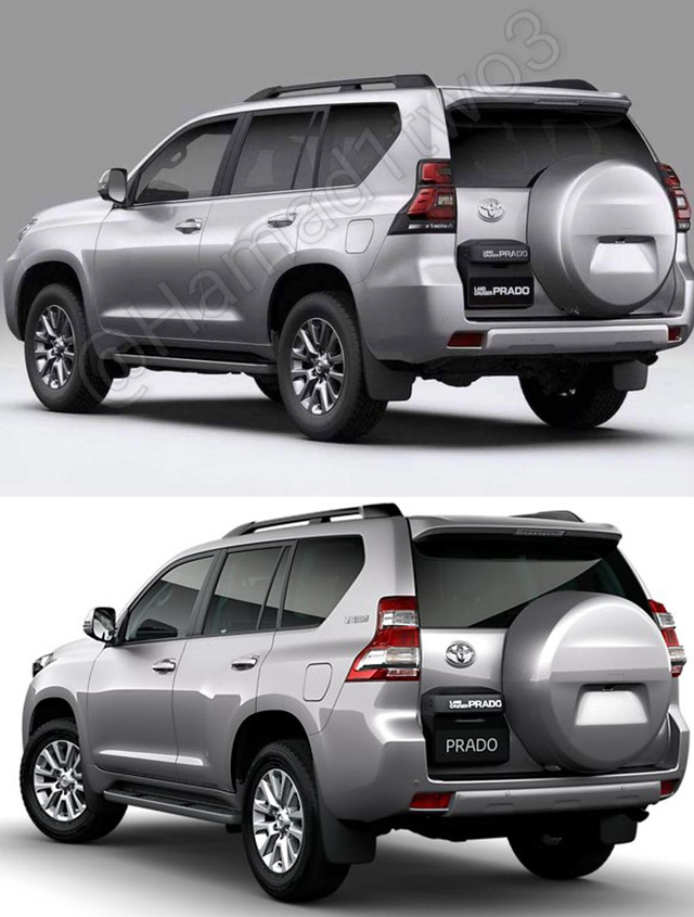 Toyota Land Cruiser Prado 2018 sắp ra mắt hiện nguyên hình - Ảnh 2.