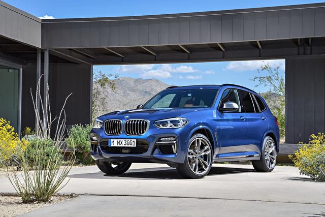 SUV hạng sang BMW X3 2018 chính thức được vén màn với công nghệ cao hơn - Ảnh 1.