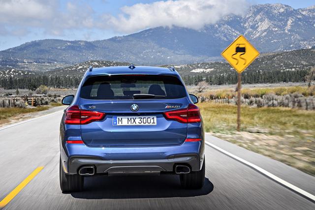 SUV hạng sang BMW X3 2018 chính thức được vén màn với công nghệ cao hơn - Ảnh 5.