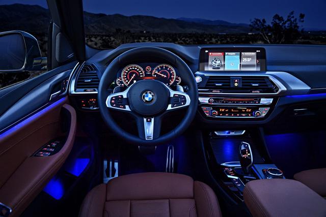 SUV hạng sang BMW X3 2018 chính thức được vén màn với công nghệ cao hơn - Ảnh 12.