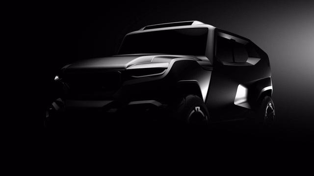 Hé lộ hình ảnh của mẫu SUV mang cảm hứng xe quân sự hoàn toàn mới - Ảnh 2.