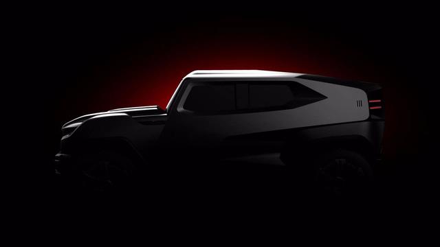 Hé lộ hình ảnh của mẫu SUV mang cảm hứng xe quân sự hoàn toàn mới - Ảnh 3.