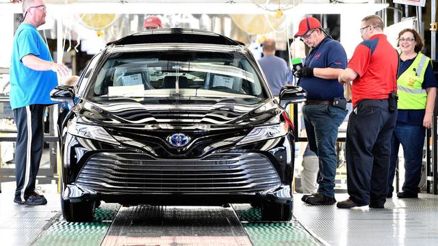 Toyota Camry 2018 bắt đầu lên dây chuyền sản xuất - Ảnh 3.