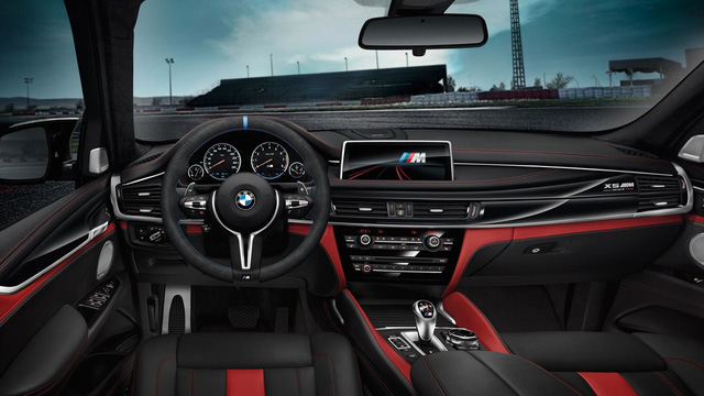 BMW tung ra phiên bản đặc biệt mới của cặp SUV sang X5 M và X6 M - Ảnh 5.